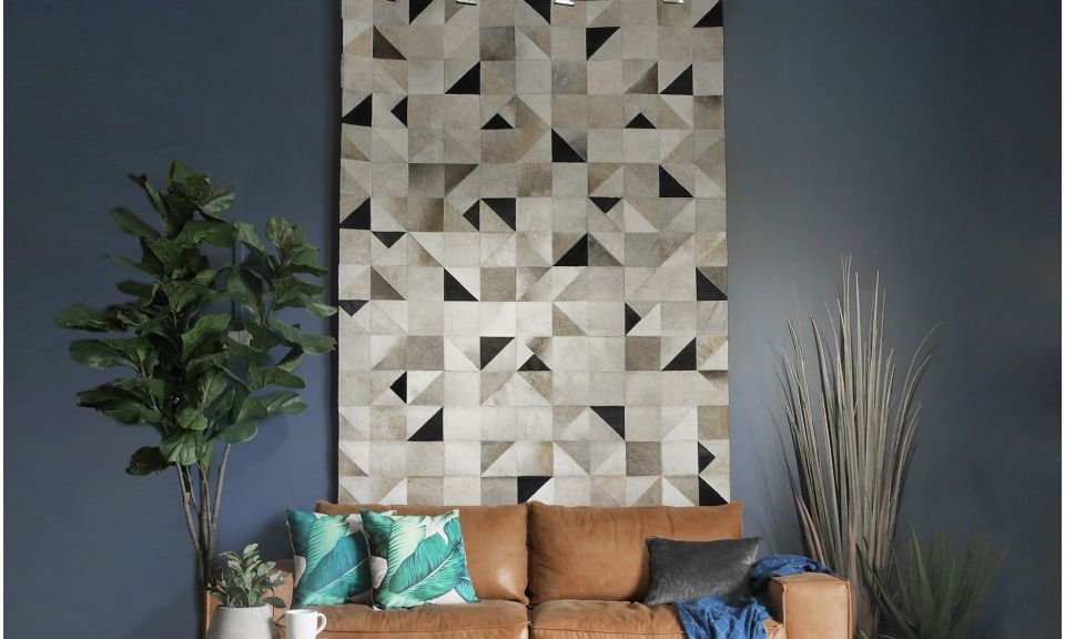 Brazilian Cowhide Rug - Patchwork