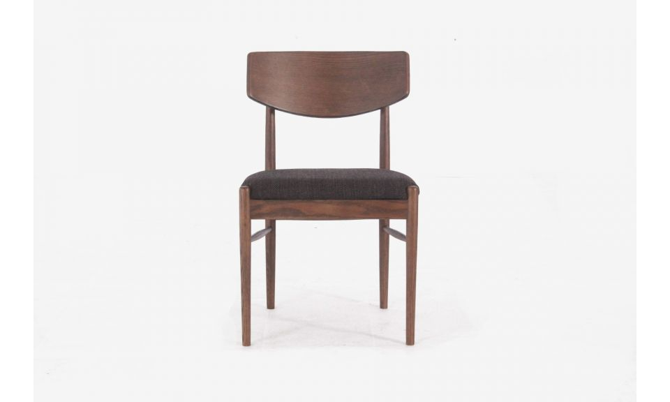 Edith Side Chair - Dark Chocolate