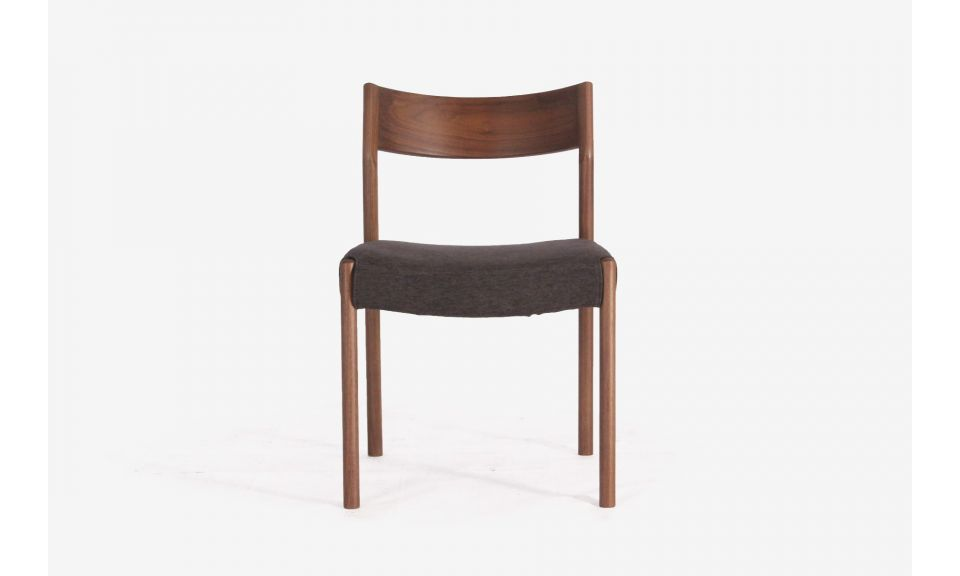 Elyse Side Chair - Charcoal (Display Piece)