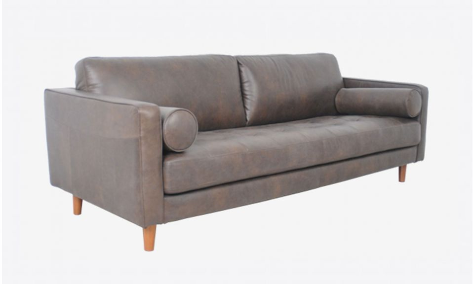 Hugh Walnut (3 seater)