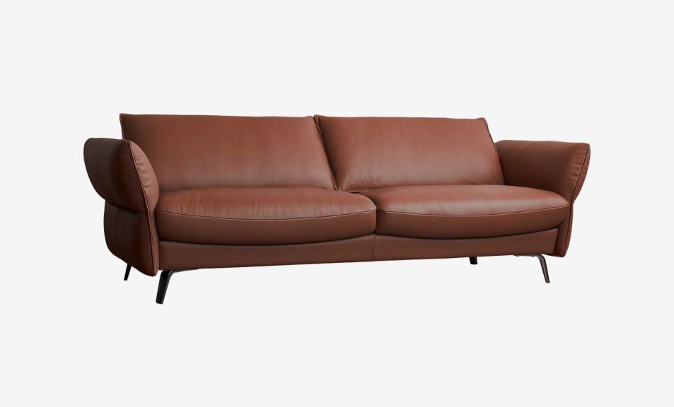 Ashby 2 Seater Sofa - Satine Taupe