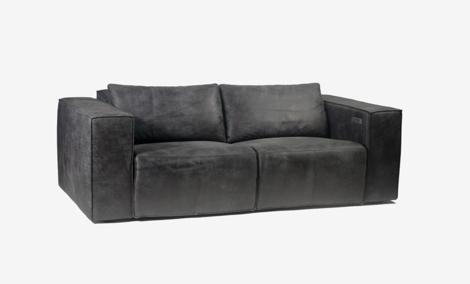 Beaumont 2 Seater Recliner Sofa - Fabric (Touch Motion)