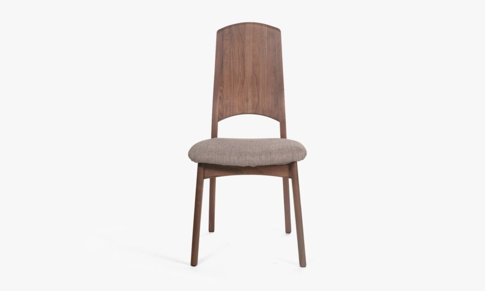 Claire Side Chair - Dark Chocolate
