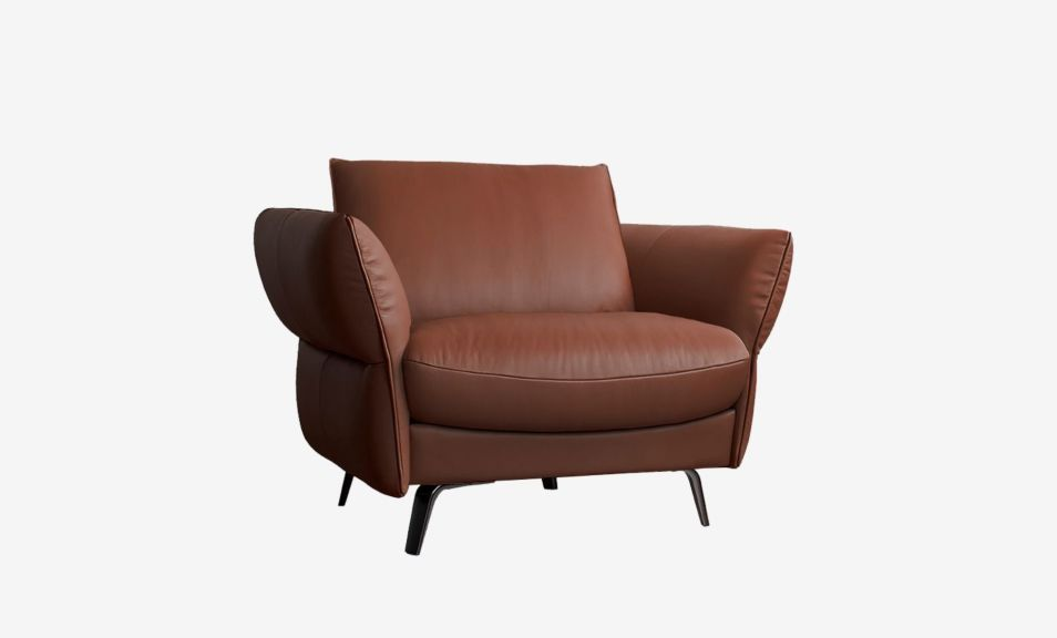 Ashby 1 Seater Sofa - Brianne Nude