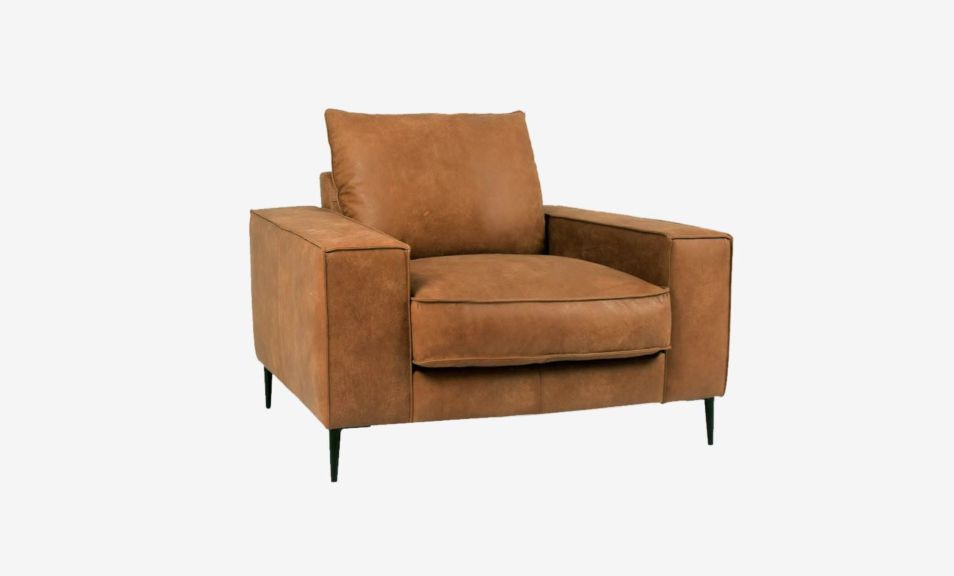 Reilly 1 Seater Sofa - Natural Chocolate