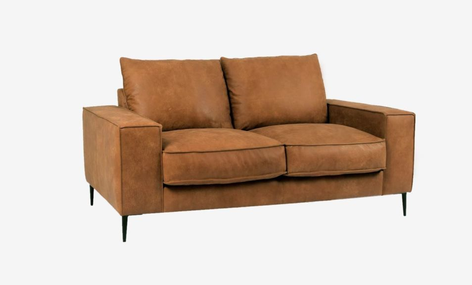 Reilly 2 Seater Sofa - Natural Chocolate