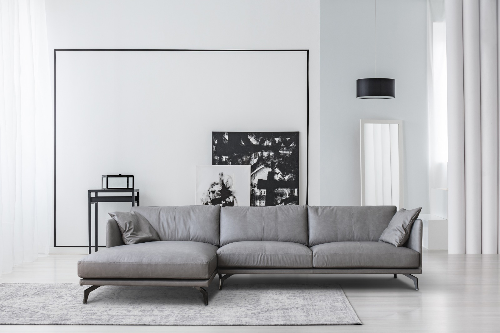 Portage 3 Seater Sofa with Chaise