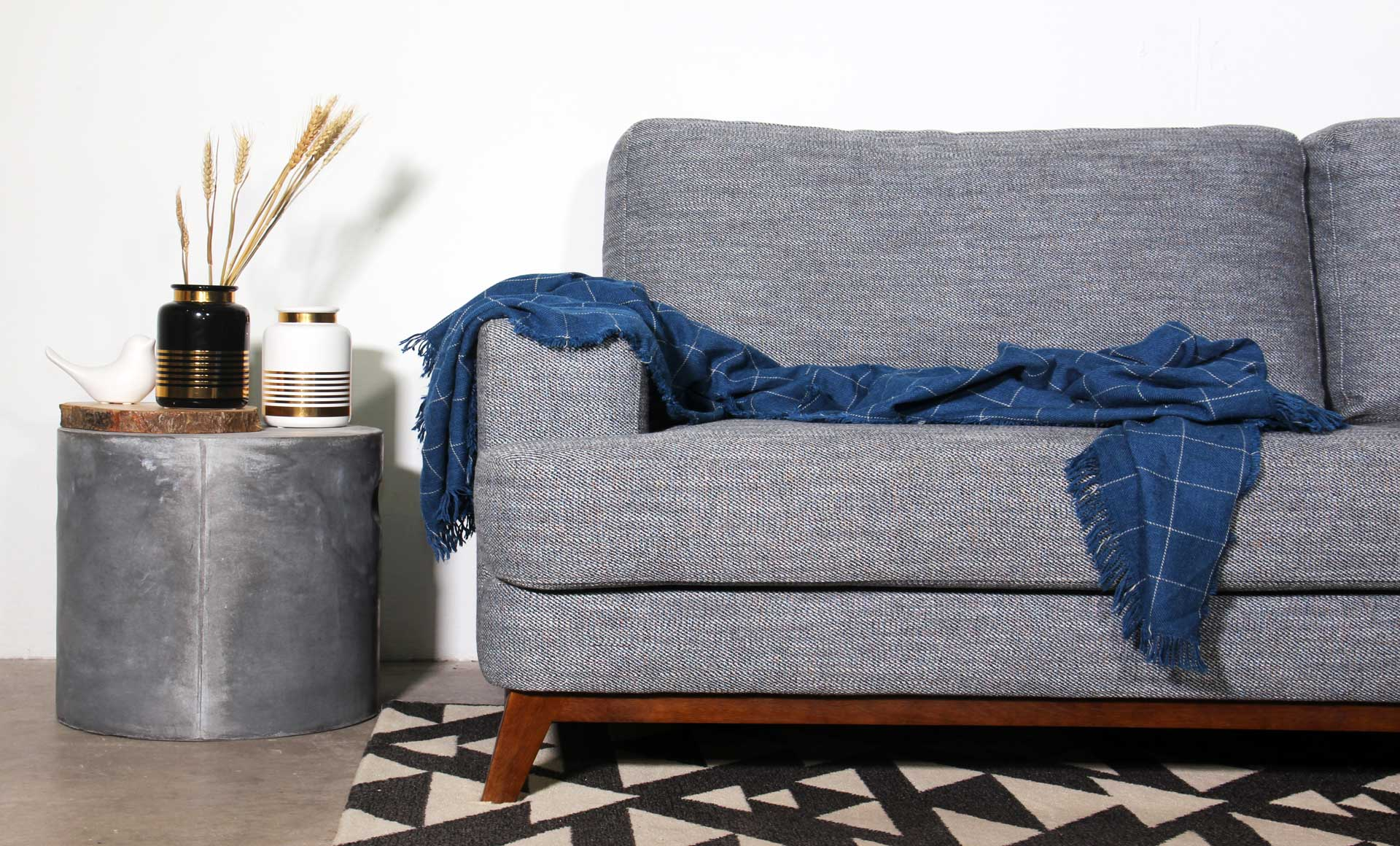 Best Fabric Sofa: Customisable Features with Stain Repellent Technology
