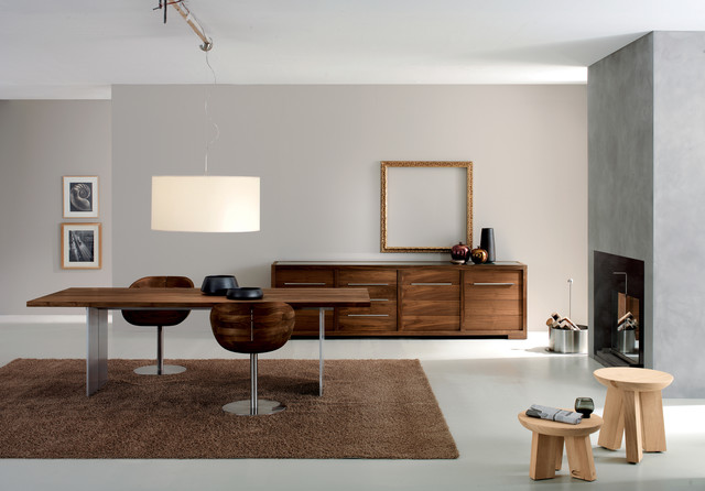 Grey and Sanders Scandinavian Furniture - Varying colour of the wood will not result in clashing design.